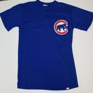 Vintage Chicago Cubs Majestic T-shirt Jersey No 11
